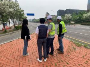 IFEZ, 송도국제도시 대형공사장 주변도로 등 점검